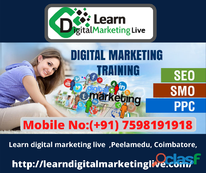 digital marketing training course in Coimbatore