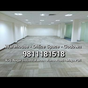 Commercial Space for Rent Kirti Nagar Main Road