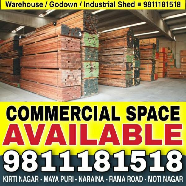 Warehouse Godown Industrial Shed for Rent Delhi 9811181518