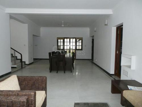 4 BHK Adarsh Vista semi furnished villa available for rent