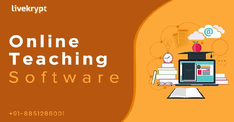 Livekrypt Online Teaching Software