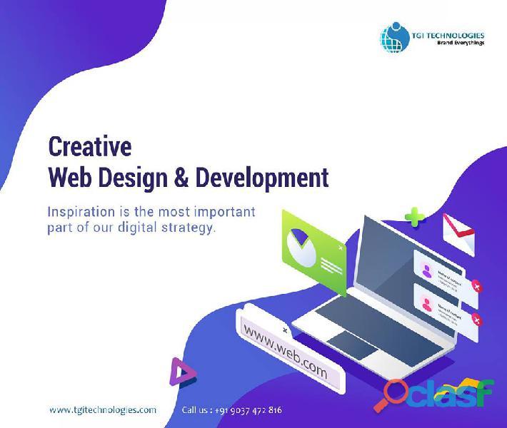 Website design, development and hosting company in Kochi,