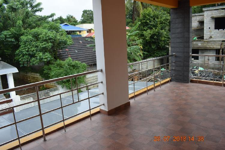 Near mercy college 3 BHK river view villa for sale