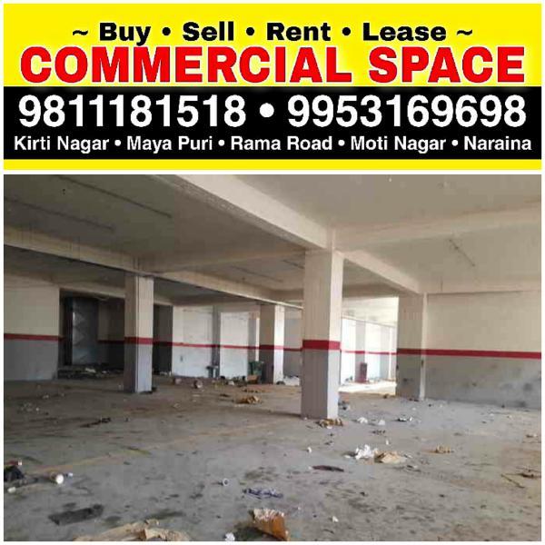 Industrial Warehouse Godown for Rent in Delhi Kirti Nagar