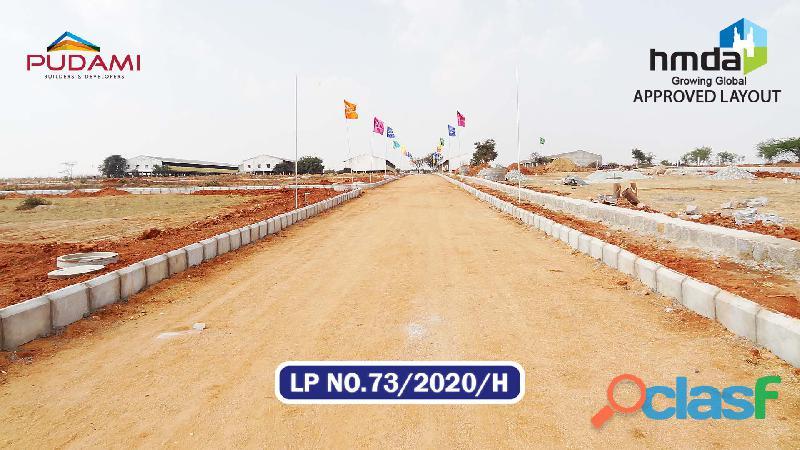 Super tech residential plots greater Hyderabad