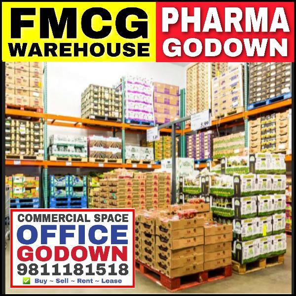 FMCG Pharma Godown Warehouse for Rent Rama Road Moti Nagar