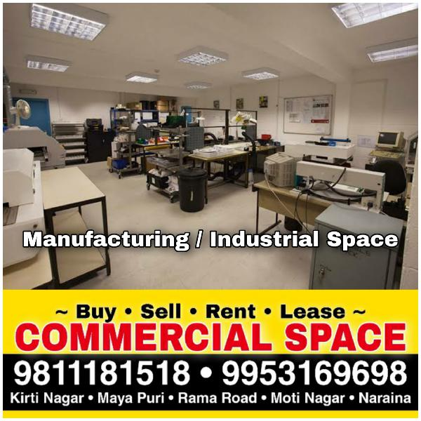 Manufacturing Space for Rent in Delhi Moti Nagar Rama Road