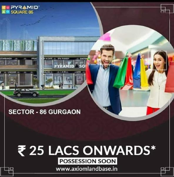 Commercial shops available in Gurgaon at prime location