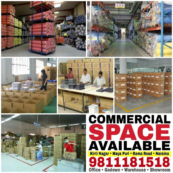 Godown Warehouse Storage Space Office Space for Rent Lease