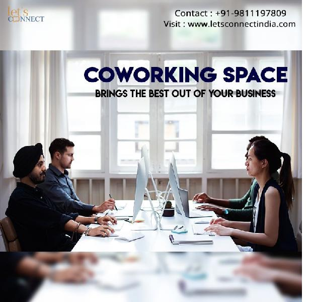Shared Workspace in Noida Lets Connect India