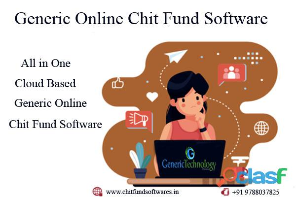 All in One Generic Online Chit Fund Software