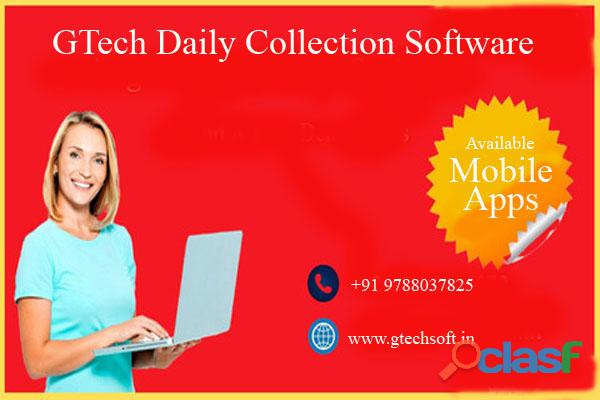 GTech Online Daily Collection Software with Mobile Apps