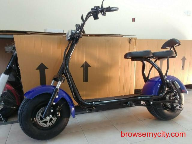 For Sale Electric scooter citycoco 3000W motor with 20ah
