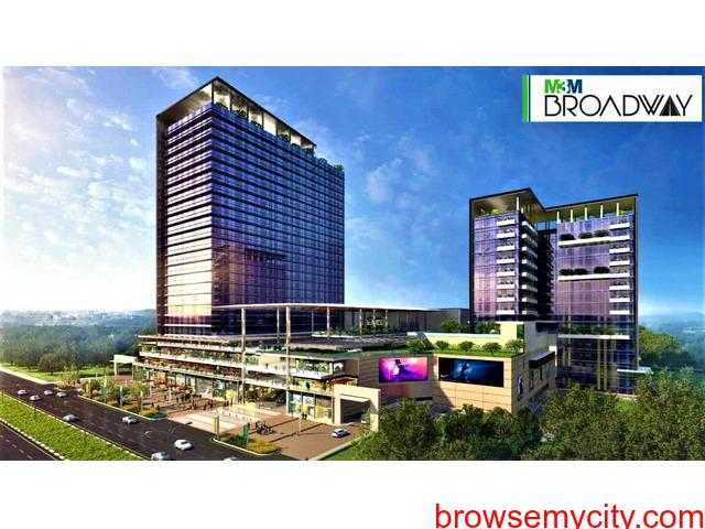 M3M Broadway Commercial Office Space/Shops/Food Court Sector
