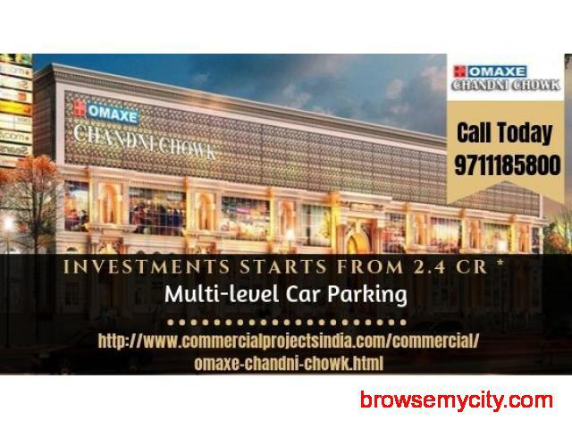 Omaxe Chandni Chowk Delhi New Commercial Project