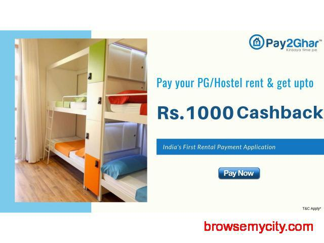 Paying Guest Rent Online