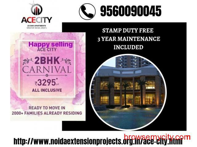 Ready to Move Apartment in ACE CITY Noida Extension | Call