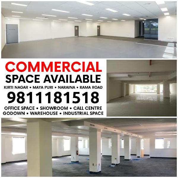 Corporate Office Showroom Retail Space for Rent Lease