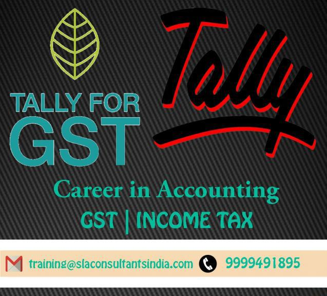 Best Tally Training Course in Gurgaon- SLA Consultants