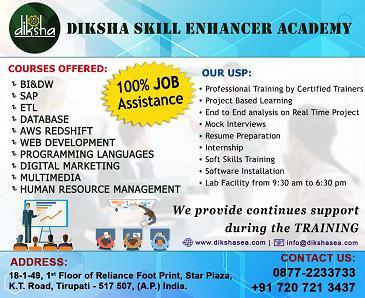 Diksha Skill Enhancer Academy- Professional IT Training