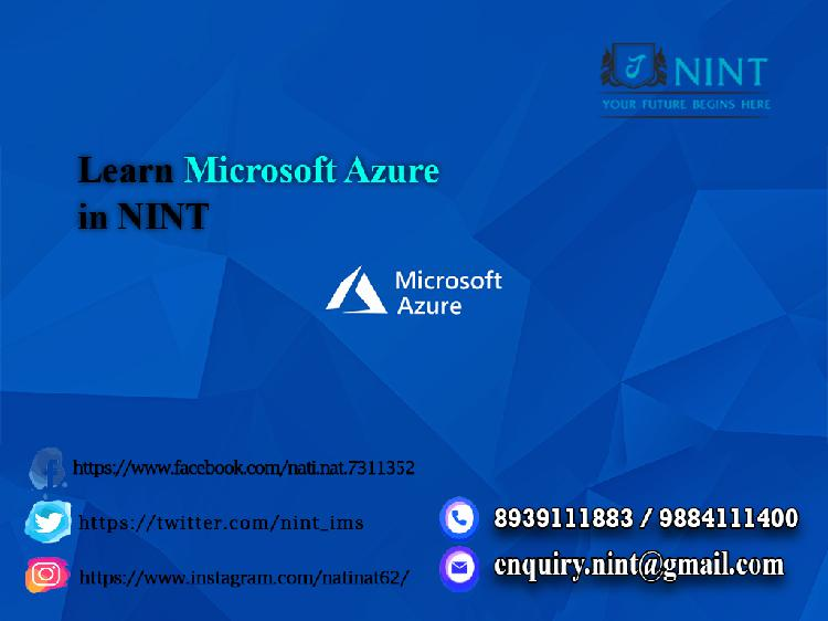 Learn Microsoft Azure in NINT