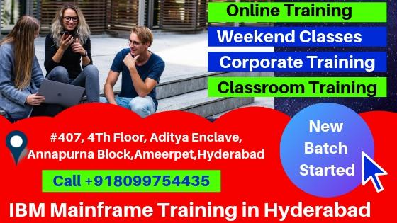 Mainframe Training in Hyderabad Ameerpet