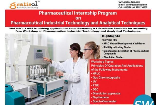 Pharma Quality Control Internship & Training