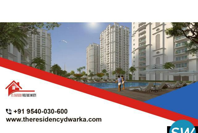 Book your 1 BHK apartment at The Residency Dwarka