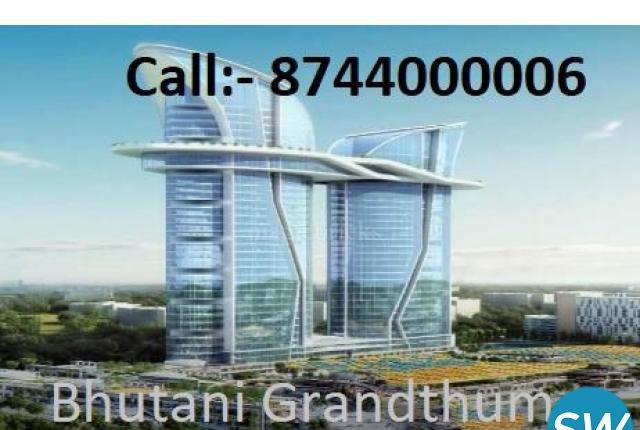 Buy Retail Shop and Office Space Bhutani Grandthum Greater