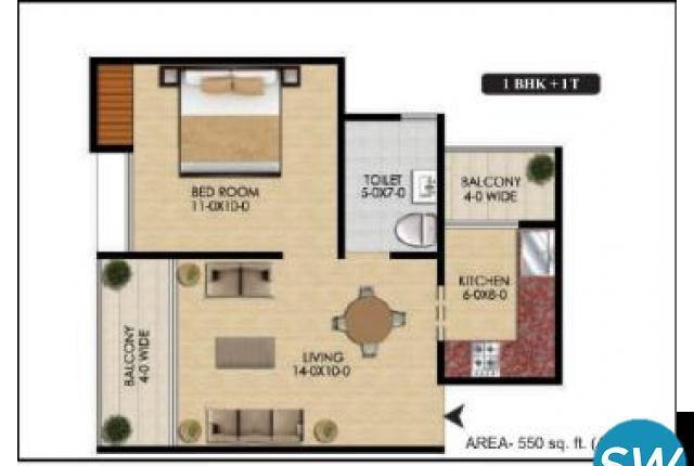 Delhi Awas Yojna Floor Plan - Delhi Housing Scheme
