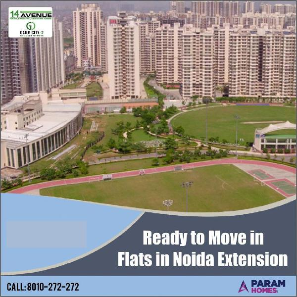 Gaur City 14th Avenue 2 Bhk Flats In Greater Noida West