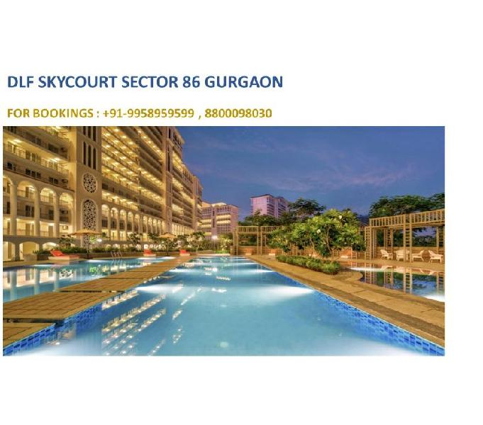 DLF Skycourt sector 86 Gurgaon, DLF Skycourt 3 bhk price and