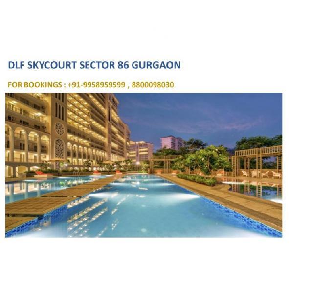 DLF Skycourt sector 86 price list, DLF Skycourt 2 years plan