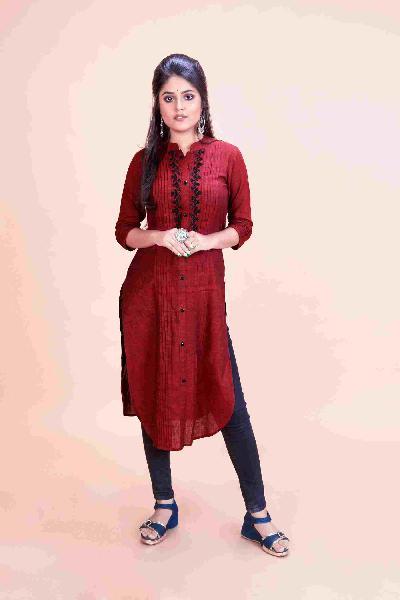 Latest Design A-Line Kurti for Women - vyaghri.com