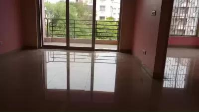 3 BHK flat available on rent in a Complex in New Town