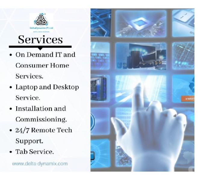 IT Support Service in Bangalore | DeltaDynamix