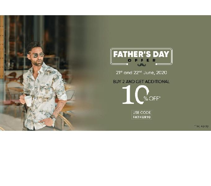 Shop for the best gift for your Father at Mufti & grab Upto