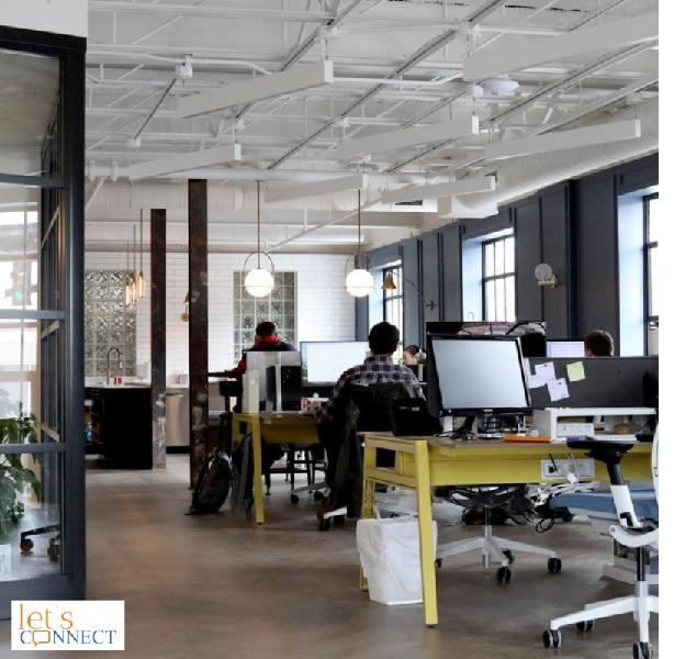 Office space for rent Lets Connect India