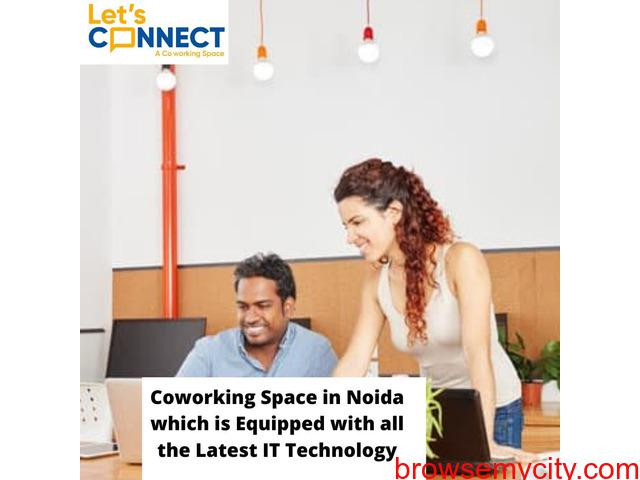 Shared Office space for rent in Noida:Lets Connect India