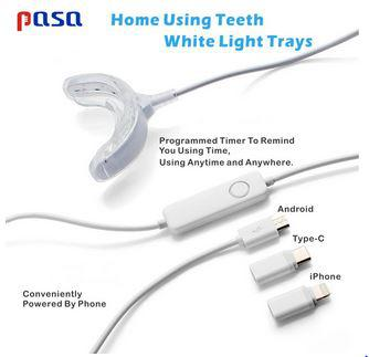 Hot Portable Smart Cold Blue Light LED Tooth Whitener Device