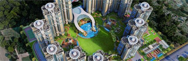 Buy 2 BHK Flats 54 Lac in Samridhi Luxuriya Avenue