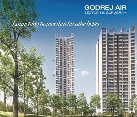 Godrej Air Premium 3 4 BHK Apartments in Sector 85