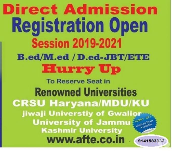 India's best AFTE INSTITUTE IN JBTb.ed d.ed (9141583333)