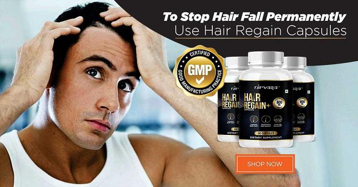 No More Hair Fall Problems With Hair Regain Capsules