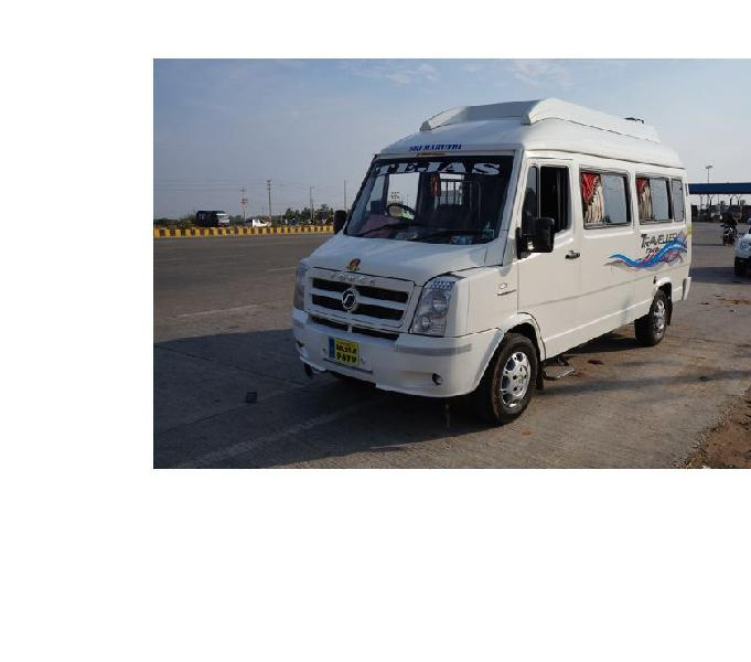 14 seater tempo traveller hirerent in Bangalore