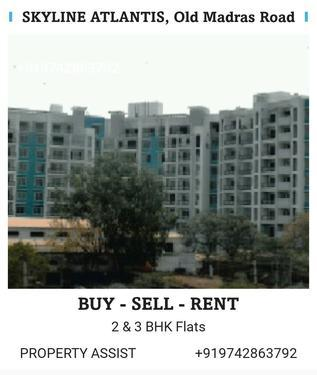 SKYLINE ATLANTIS 3 BHK Semi Furnished Flat for RENT