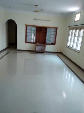 3bhk Independent entry house for rent in kuvempunagar