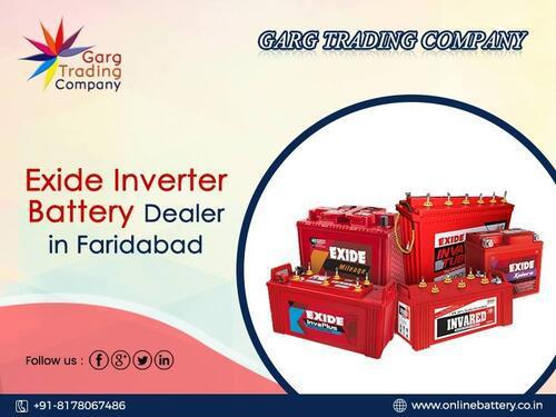 Buy Exide Tubular Inverter Battery Online in Faridabad