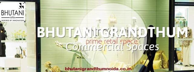 Grand Commercial Space at Greater Noida Bhutani Grandthum