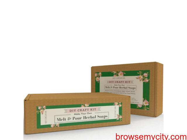 DIY Melt & Pour Herbal Soaps | Best Melt and Pour Soap